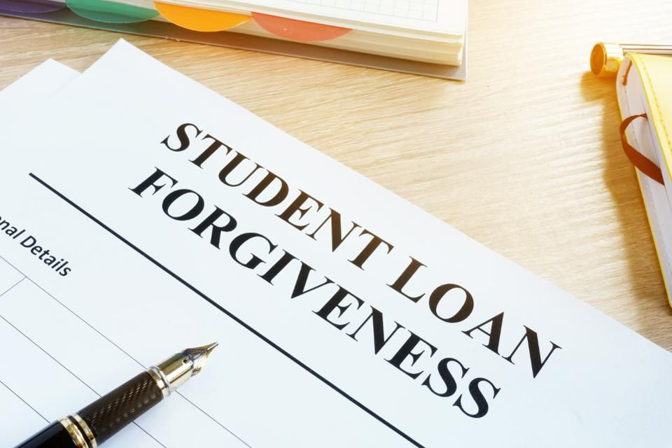 The low-down on student loan forgiveness